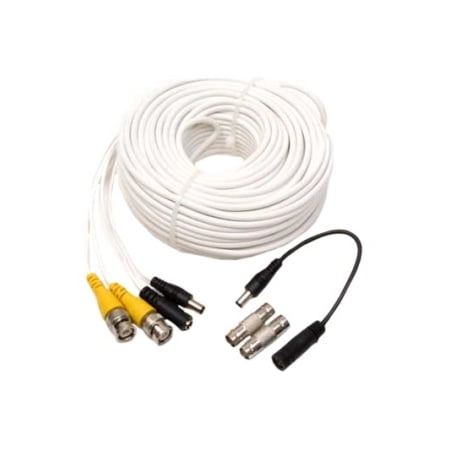 Q-SEE 100FT BNC EXTENSION CABLE W/ FEMALE BNC CONNECTORS