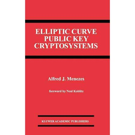 Elliptic Curve Public Key Cryptosystems by