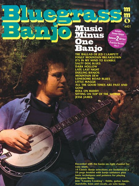 Bluegrass Banjo: Music Minus One Banjo by Music Minus One
