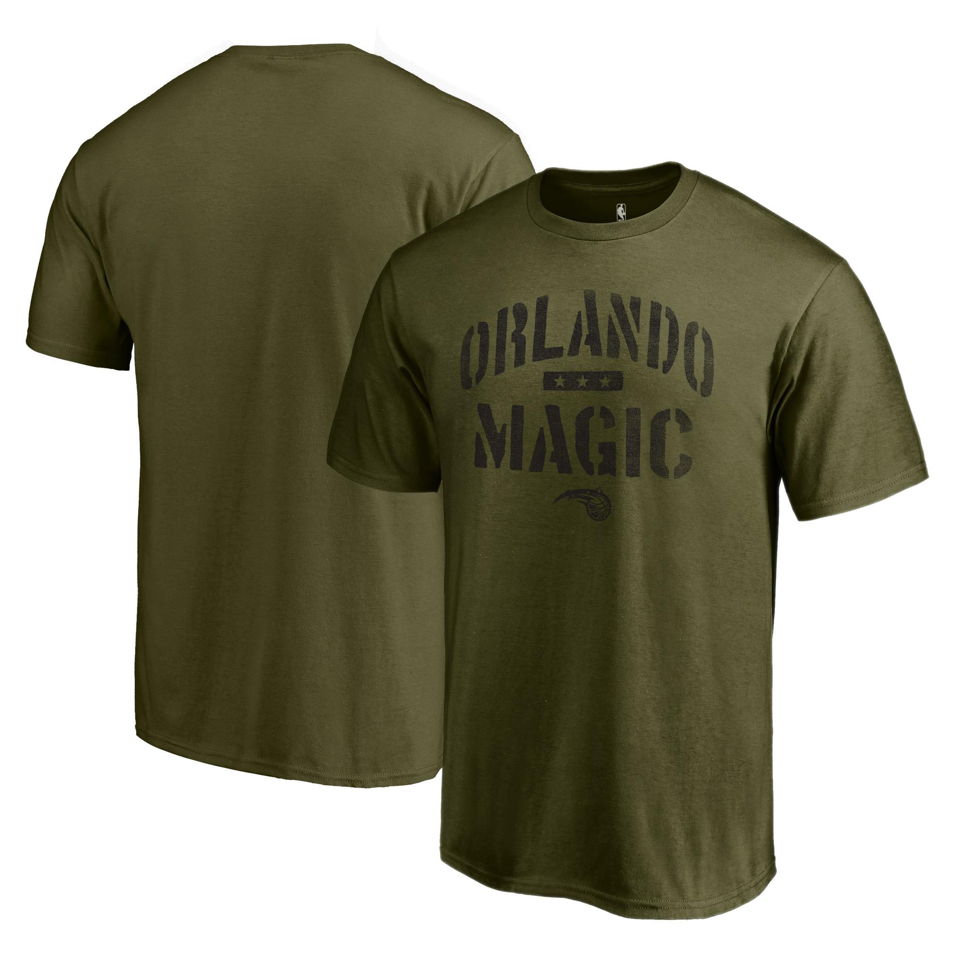 Orlando Magic Fanatics Branded Camo Collection Jungle T-Shirt - Green