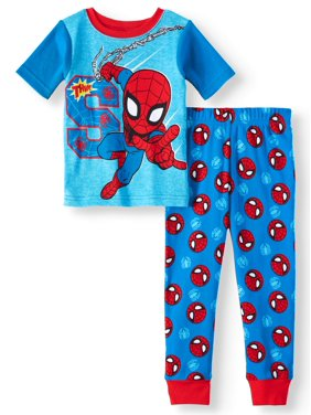 Spider-man Cotton tight fit pajamas, 2pc set (toddler boys)