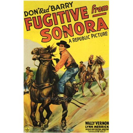 Fugitive From Sonora POSTER Movie (27x40) (Banda Sonora Halloween Mp3)