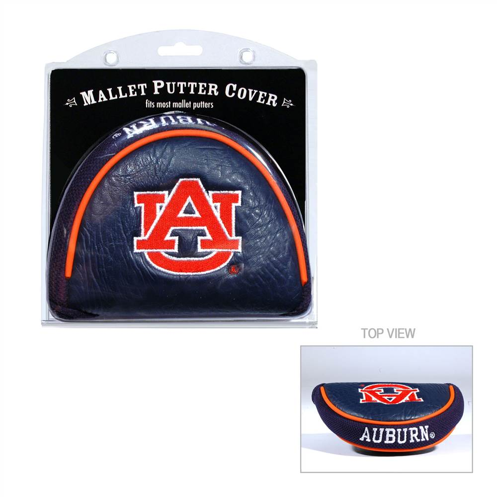 Team Golf NCAA Auburn Golf Mallet Putter Cover