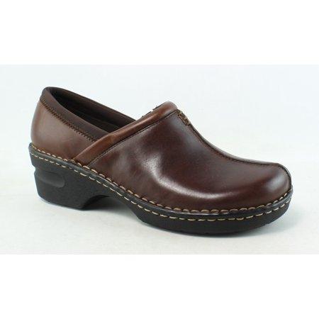 88901632e8613 Eastland Womens Kelsey Brown Clogs Size 9