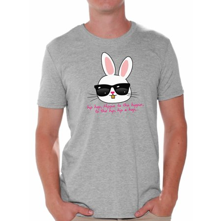 Awkward Styles Hip Hop Easter Bunny Shirt Easter T Shirt Men Easter Bunny Tshirt Easter Gifts for Him Easter Holiday Party Outfit Happy Easter Shirts Funny Easter Bunny Tshirt Cool Easter Bunny Shirt](Hip Hop Halloween Party San Francisco)