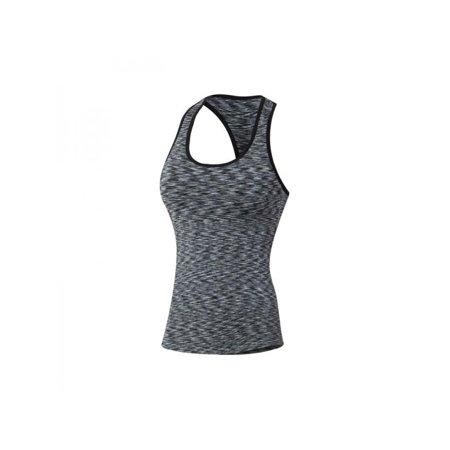 Fit Dry Sleeveless (EFINNY Women Quick Dry Sleeveless Raceback Sports Fittness Tanks Vest )