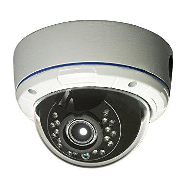 Gawker G830qhdw Sony 2 2Mp Sensor Dome Cctv Security Camera  1080P 4 In 1 Hd Tvi  Default   Ahd Cvi Cvbs Video Out Switchable  True Day  Ip66 Vandal Proof  2 8 12Mm Lens  Ir Smart  Dc12v Ac24v