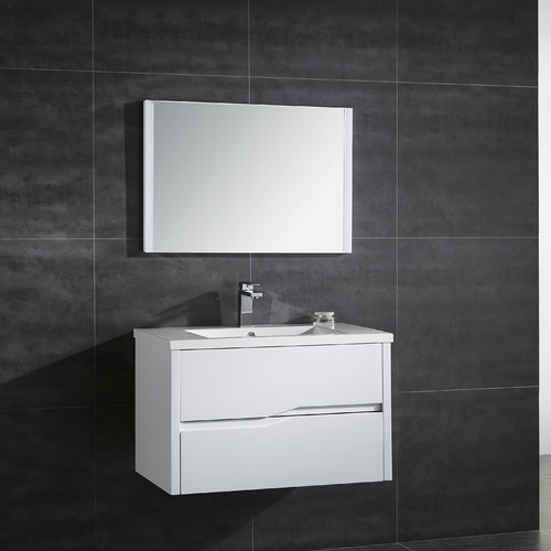 Ove Decors Avida 32'' Single Bathroom Vanity with Mirror