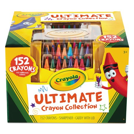 Crayola 152 Count Ultimate Crayon Collection - Green Crayola Crayon