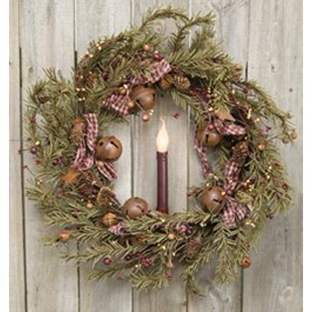 Rustic Holiday Pine Wreath - 22