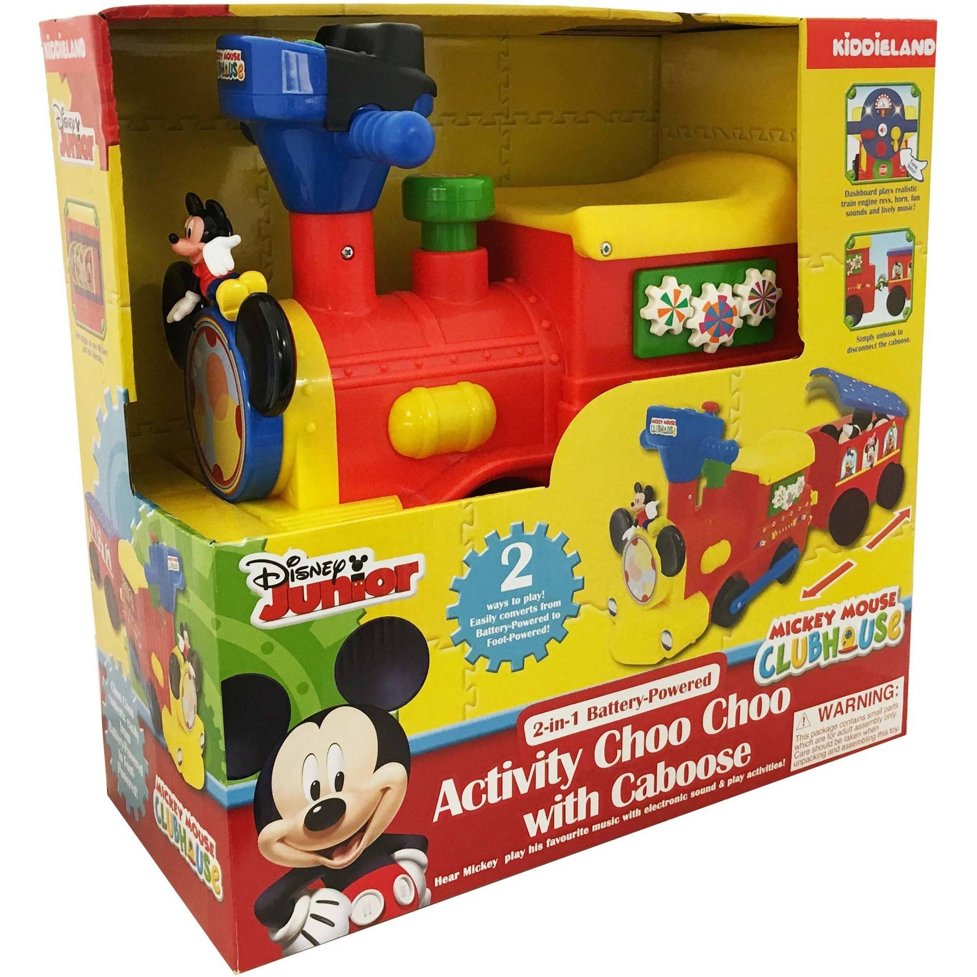 Mickey mouse toys for one year old toys model ideas for Disney mickey mouse motorized choo choo train with tracks