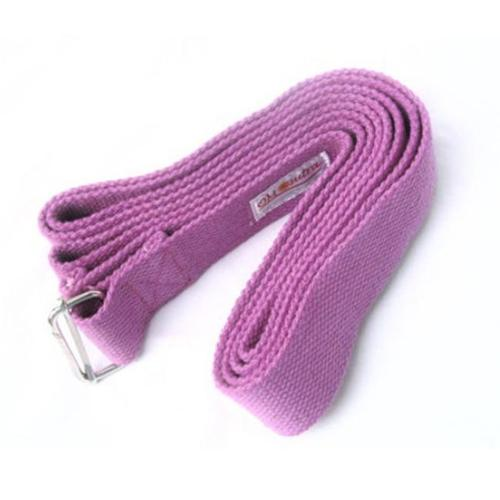 KushOasis OM132010-Magenta OMSutra Yoga Strap Cinch-Buckle 10 ft.  - Color - Magenta