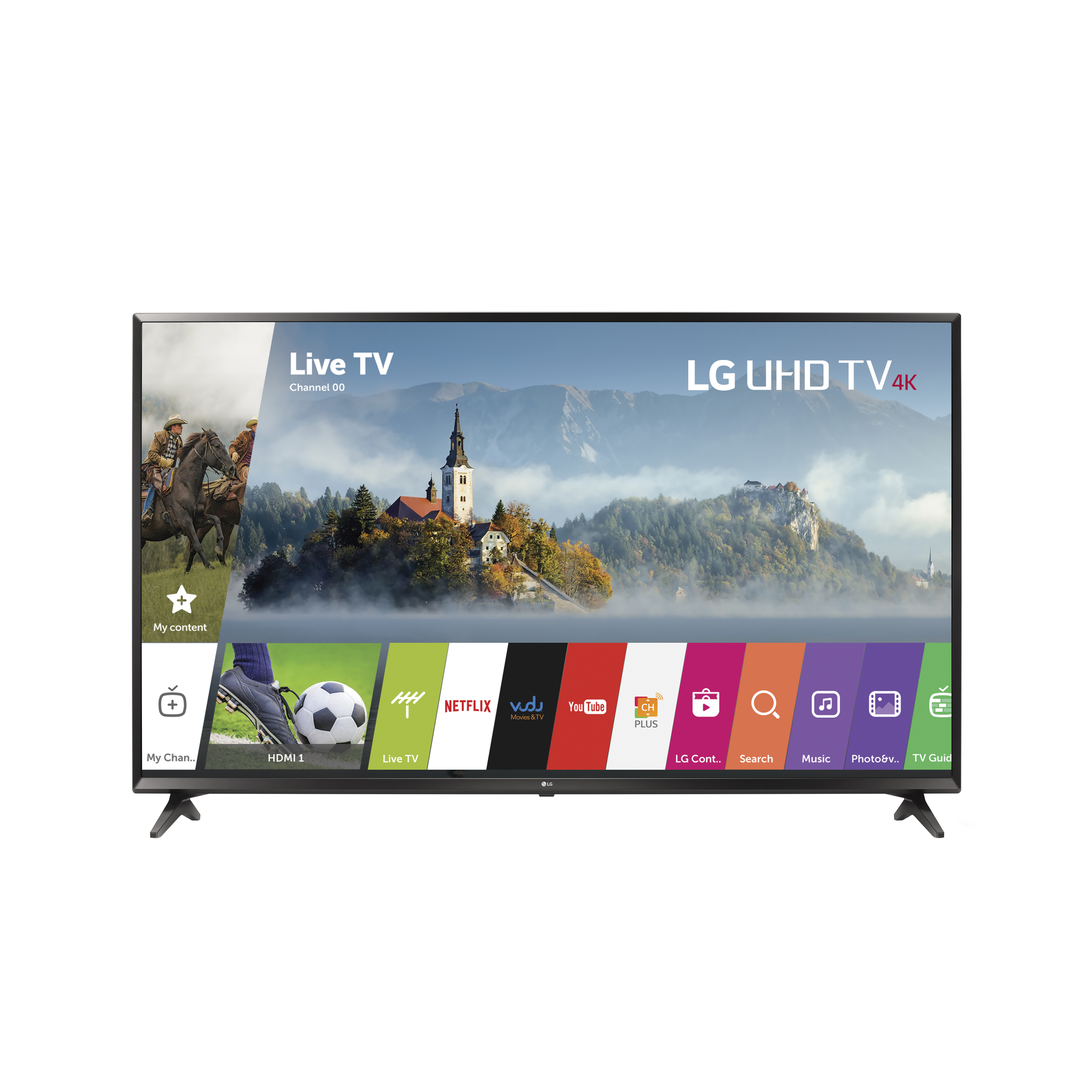 "LG 55"" Class 4K (2160P) Ultra HD Smart LED TV (55UJ6300)"