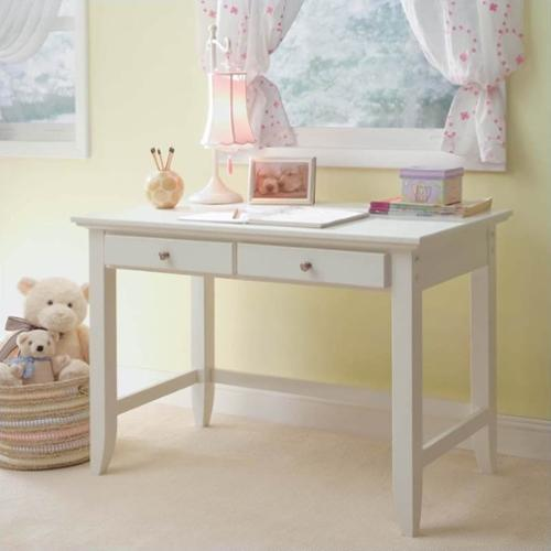 Home Styles Naples Student Desk - White