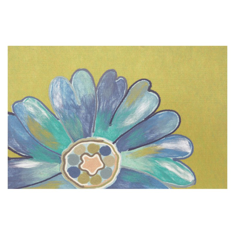 Liora Manne Visions IV Daisy Doormat by Supplier Generic
