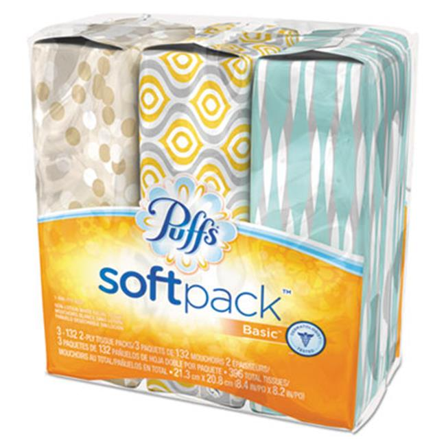 Tide 90428CT 2-Ply White Facial Tissue, 8. 2 x 8. 4 inch