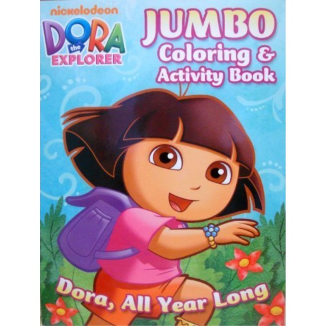- Dora The Explorer Coloring & Activity Book A Dora (all Year Long) -  Walmart.com - Walmart.com