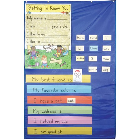 School Smart Pocket Chart Plus, 34