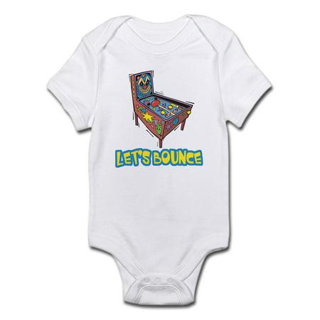 97934316a CafePress - CafePress - Let's Bounce Pinball Machine Infant Bodysuit - Baby  Light Bodysuit - Walmart.com
