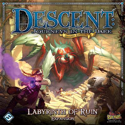 Descent Journeys in the Dark Second Edition: Labyrinth of Ruin - Brio Labyrinth