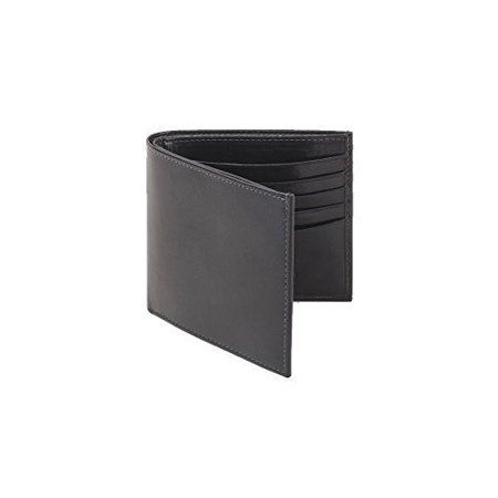 Trafalgar Cortina Leather Hipster Wallet in Black