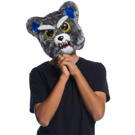 Feisty Pets Sammy Suckerpunch Movable Jaw Mask Halloween Costume Accessory](Halloween Costume Ideas No Mask)