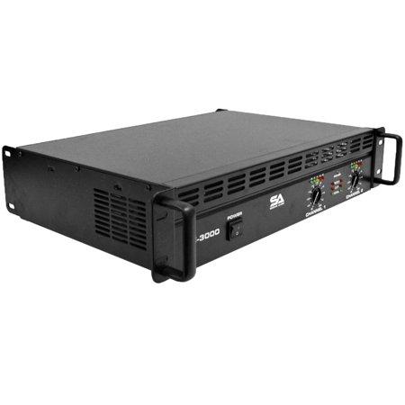 Seismic Audio New  Power Amplifier  PA/DJ Amp 3000 Watts -