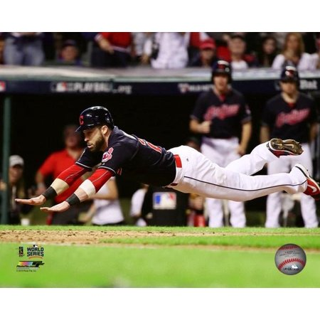 Jason Kipnis scores on a wild pitch during Game 7 of the 2016 World Series Photo (1996 World Series Game 6 Box Score)