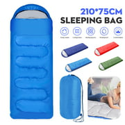 Waterproof 6 Type Sleeping Bag for Single Person for Outdoor Hiking Camping,Warm Soft Adult One Person Use
