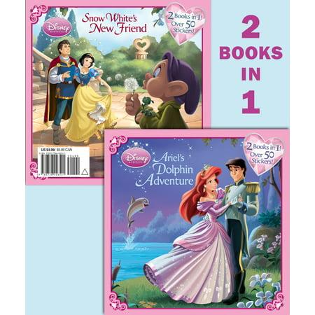 Ariel's Dolphin Adventure/Snow White's New Friend (Disney (Best Disney Friend Gifts For 4 People)