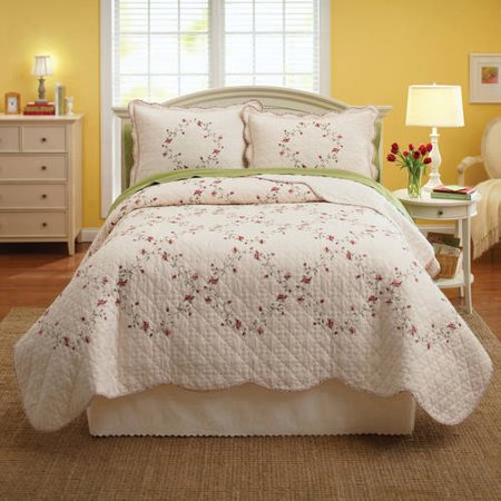 Better Homes and Gardens Hannalore Bedding Quilt - Walmart.com : better homes quilts - Adamdwight.com