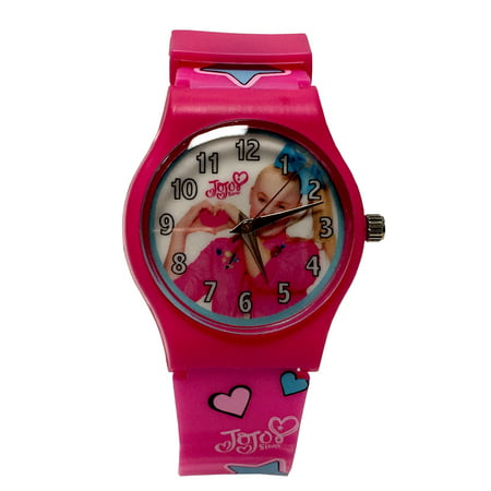 Jojo Siwa Girls Watch with Printed Band