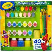 Crayola Kids Washable Paint Palette Set Walmart Com