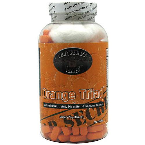 Controlled Labs - Orange Triad Multi-Vitamin, Joint, Digestion & Immune Formula - 270 Tablets