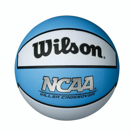 Wilson NCAA Killer Crossover Basketball, Intermediate Size 7 (Best Champion Basketball Balls)