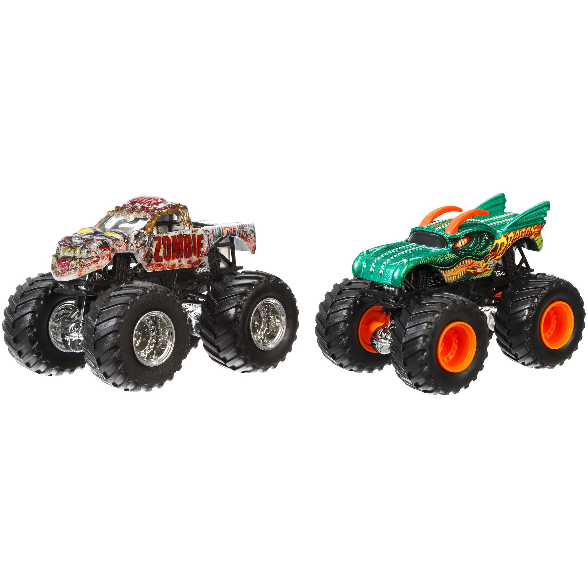 Hot Wheels Monster Jam Demolition Doubles 2-Pack (Styles May Vary)