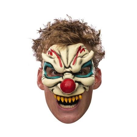 Evil Clown Adult Vinyl Chinless - Nemesis Mask Resident Evil