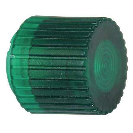 Push Button Cap,Illuminated,30mm,Green DAYTON 30G473