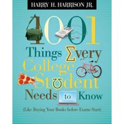 1001 Things Every College Student Needs to Know - eBook