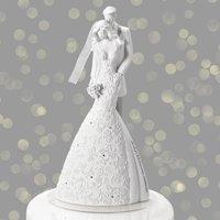 "9"" Language Of Love Cherish Cake Topper"