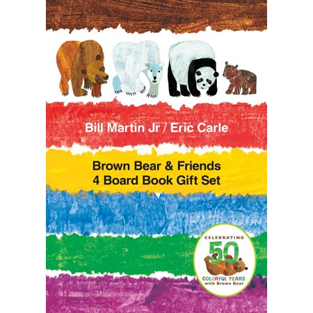 Brown Bear & Friends 4 Board Book Gift Set - Brown Bear Brown Bear Book
