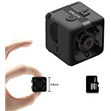 Aufikr 16GB Mini Camera Sports HD DV Camera 1080P Portable Tiny Video Camera with IR Night Vision Motion Detec Aufikr 16GB Mini Camera Sports HD DV Camera 1080P Portable Tiny Video Camera with IR Night Vision Motion Detection Small Surveillance Camera for Home Office Black. B077Y9PFSS