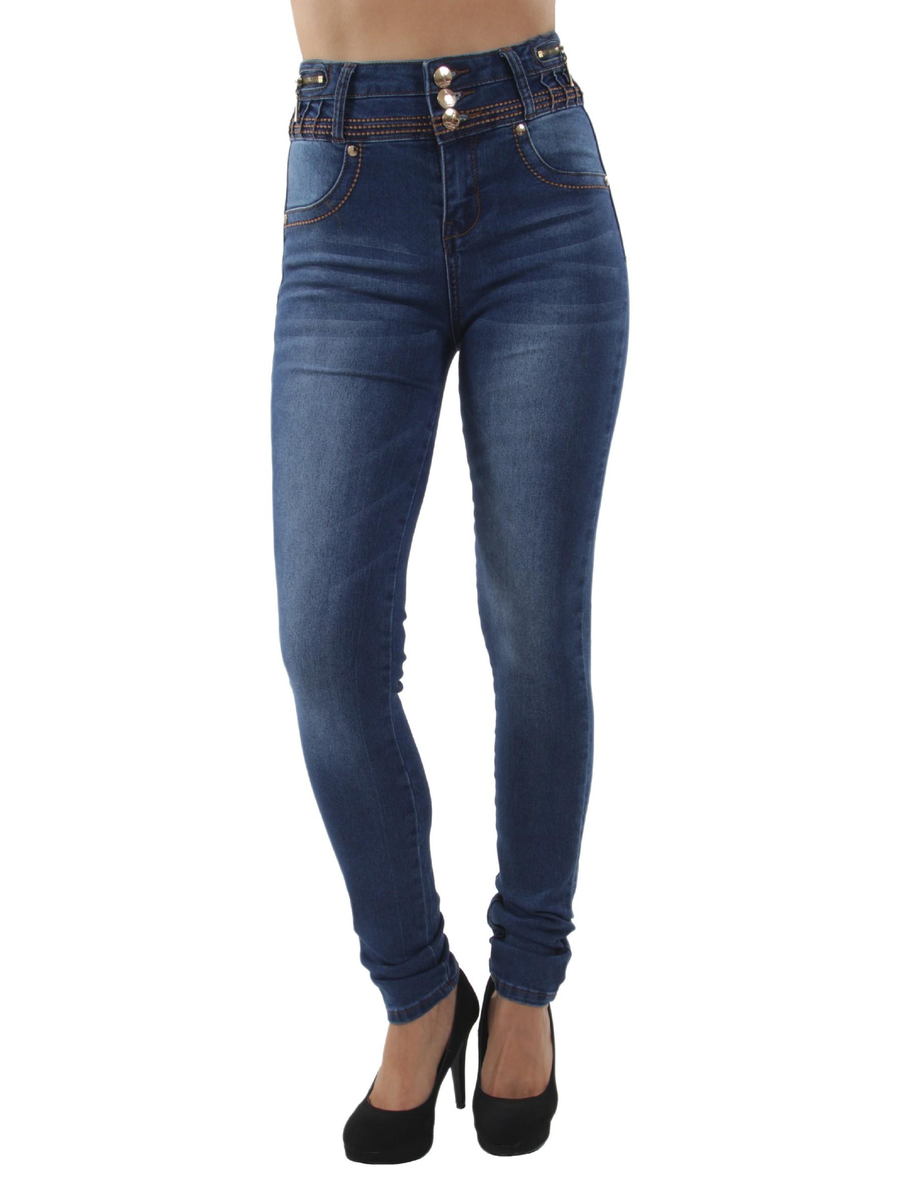 Colombian Design, Butt Lift, Push Up, High Waist, Skinny Jeans