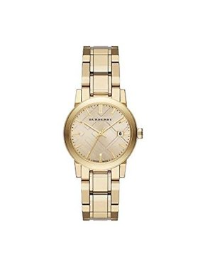Burberry Unisex Classic Checked Analog Quartz 34mm Watches