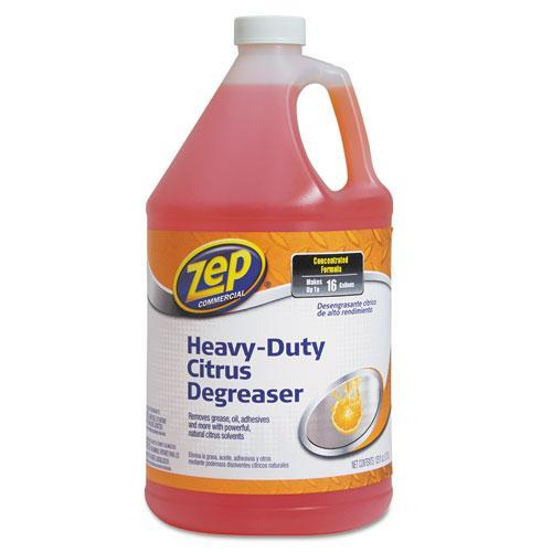 Amrep ZUCIT128CA Citrus Cleaner And Degreaser, Citrus Scent, 1 Gal Bottle