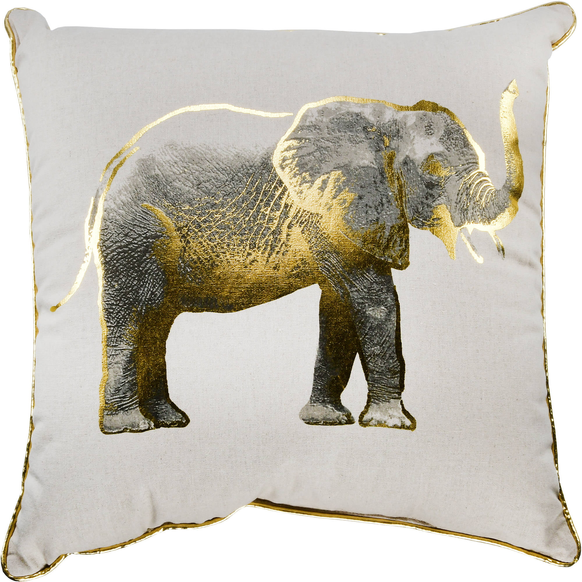Better Homes and Gardens Gold Elephant Decorative Throw Pillow e6bcff4b40
