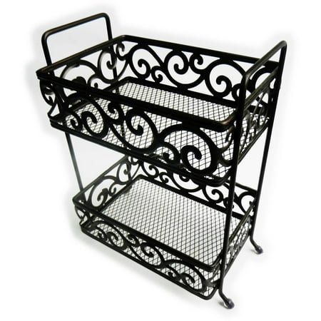 Elegant Home Fashions Freestanding Shower Caddy, Oil-Rubbed Bronze