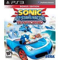 Sonic & All-Star Racing Transformed Bonus Edition, SEGA, PlayStation 3, 010086690644