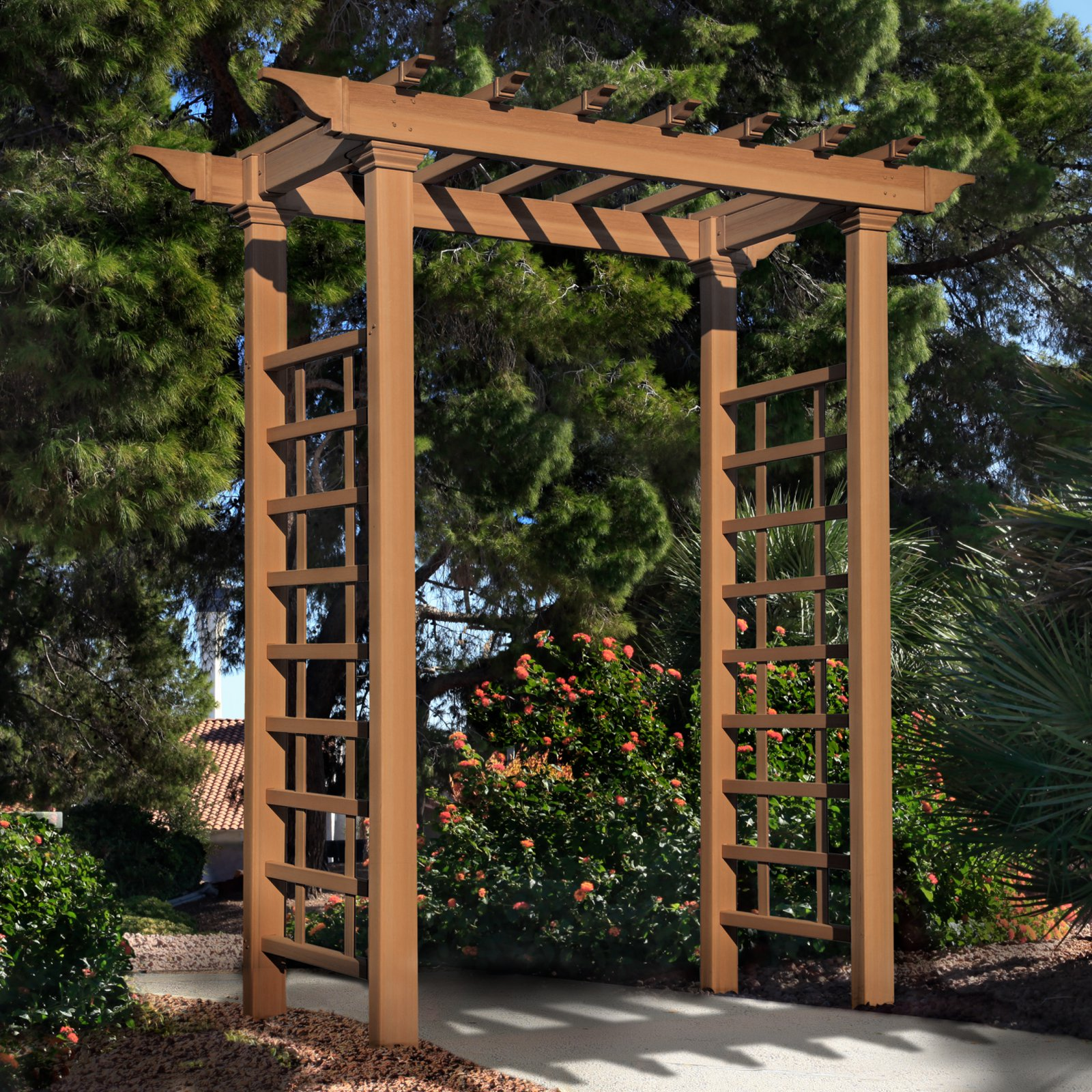 New England Arbors Carolina Arbor by New England Arbors