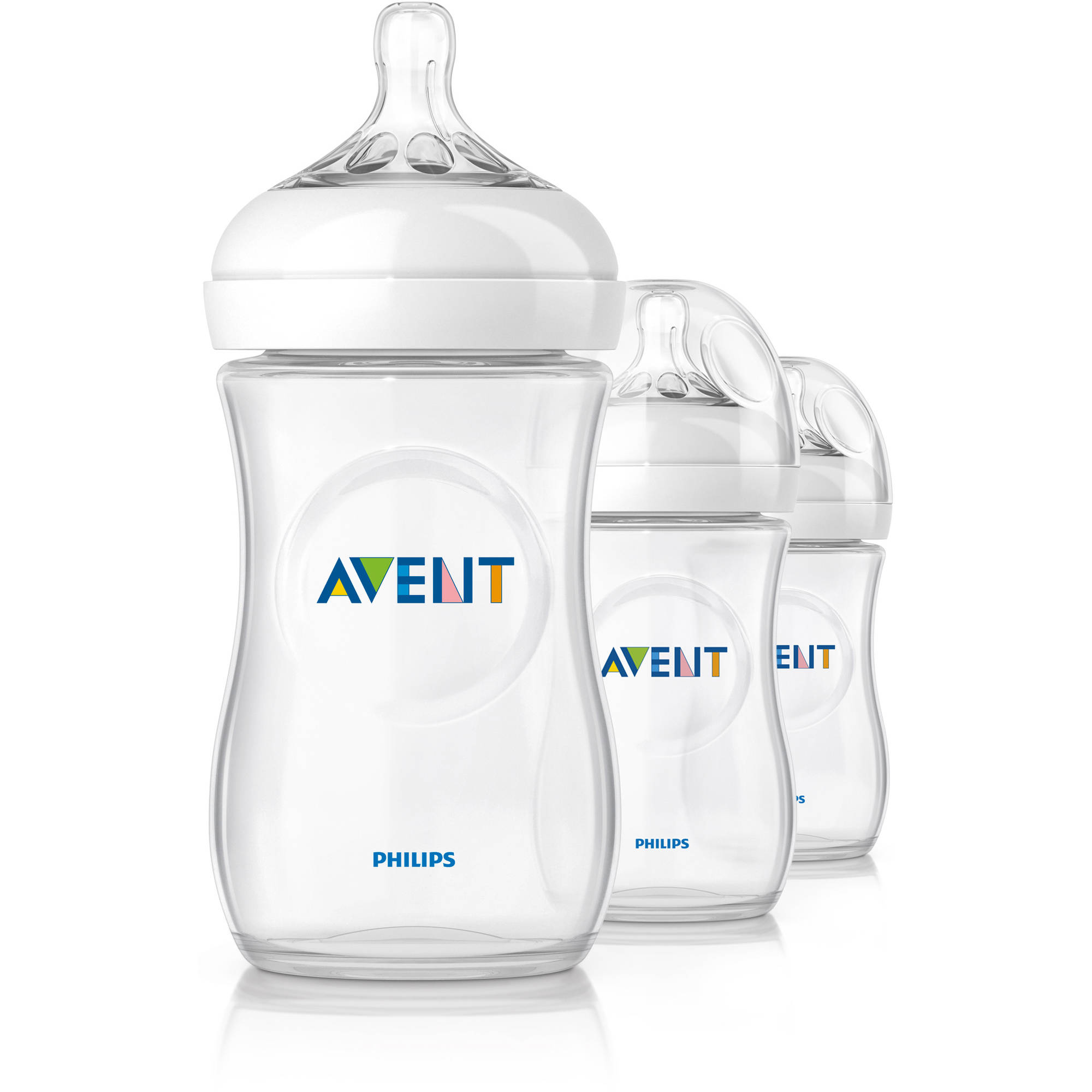 Philips Avent BPA Free Natural Baby Bottles, 9 Ounce, 3 Pack